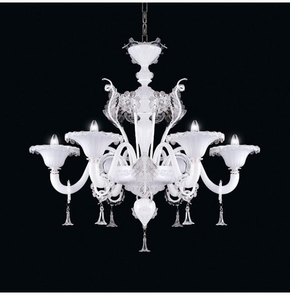 Veneziano New Classic - Sospensione 5 luci