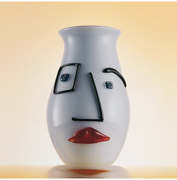 People - Vaso Bianco Contemporaneo