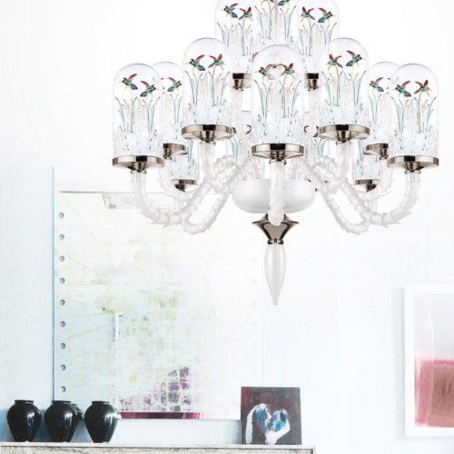 Jardin de Verre - Chandelier S18 Led Lighting