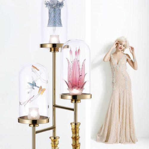 Jardin de Verre - Floor Lamp